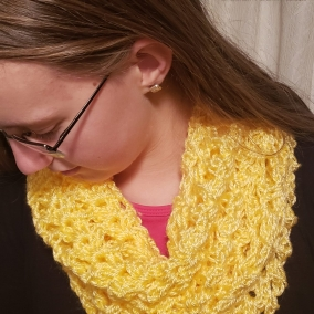 Infinity Yellow Scarf