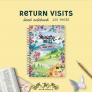 Return Visit Ministry Notes – Notebook (Feminine)   JW Gifts