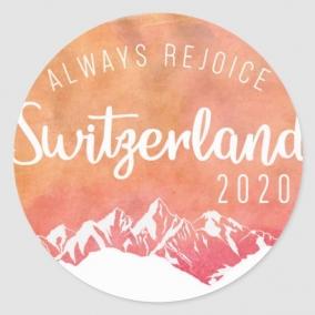 Always Rejoice – Switzerland Stickers