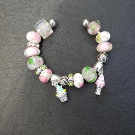 Pinky Green Bracelet