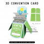Convention Card | 3D Popup Cards