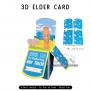 Elder & CO Thanks | 3D Popup Cards