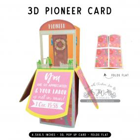 Pioneer | 3D Popup Cards