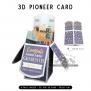 Pioneer School | 3D Popup Cards