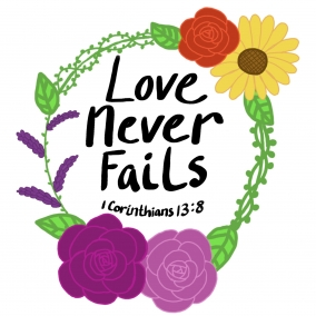 Love never fails ( English and Spainsh)