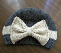 Bow Hat (custom order)