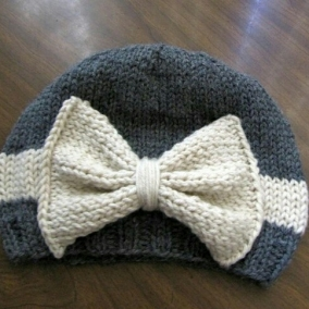 Bow Hat (custom order)
