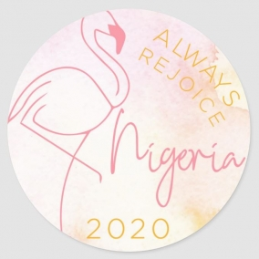 Always Rejoice – Nigeria Stickers