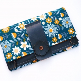 Passport Travel Documents Folder Clutch