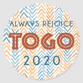 Always Rejoice – Togo Stickers