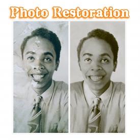 Photo Restoration – Level 2