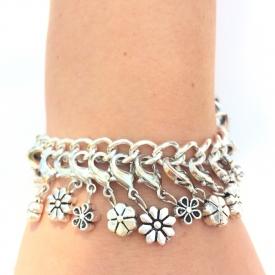 Silver Garden Achieve Bracelet