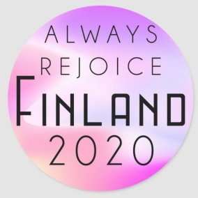 Always Rejoice – Finland Stickers