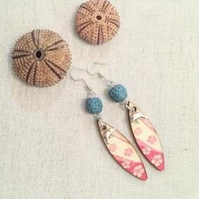 Beach earrings (Dolphins)