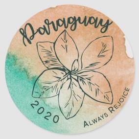 Always Rejoice – Paraguay Stickers