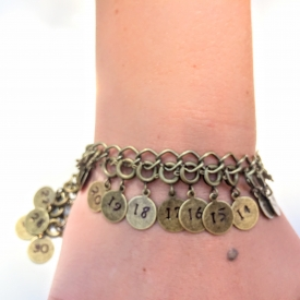 Achieve Bracelet – Rustic Brass 1-30