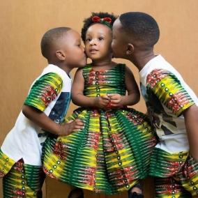 Kids ankara wear