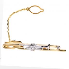 Saxophone Tie Bar