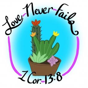 Love never fail