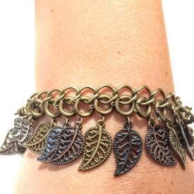 Autumn Leaves Achieve Bracelet