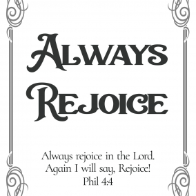 Always Rejoice 2020 Convention Print at home (Regular version)