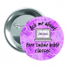 Bible Study Pin