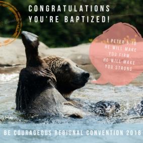 BAPTISM Bear_1 Peter 5:10_ 2018 RC_Digital Postcard_INSTANT DOWNLOAD.