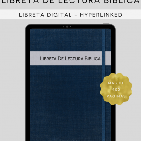 DIGITAL Hyperlinked JW Libreta De Lectura Biblica – Bible Reading Study Journal – Bible Reading Log – Goodnotes, Zoomnotes, Xodo, Etc.