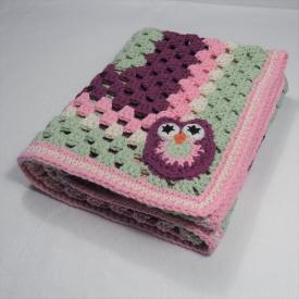 Crochet Pink Baby Blanket