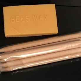 10 pack Beeswax Ear Candles Medium
