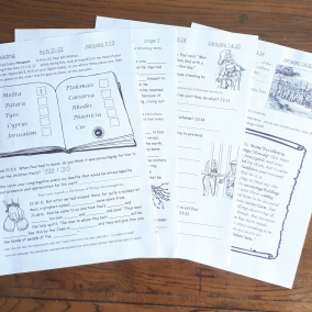 Weekly Bible Reading JW Worksheets for Kids 6-13yo