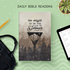 Daily Bible Reading Notebook [ 180 Pgs ] (For Brothers)
