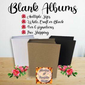 Blank Album Listing