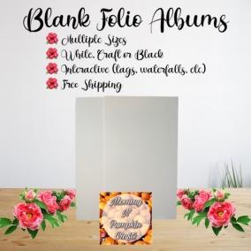 Blank Folio Album
