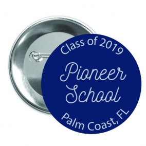 Pioneer School Pinback Button