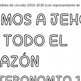 JW Spanish Asamblea de Circuito-Amemos a Jehova (Trace/Rastrear)