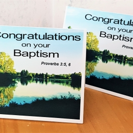 Baptism Card #1