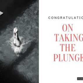 Congratulations on Taking The Plunge_Red