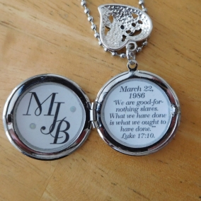 Baptism Locket