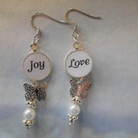 Joy/Love Earrings