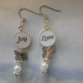 Joy/Love Earrings