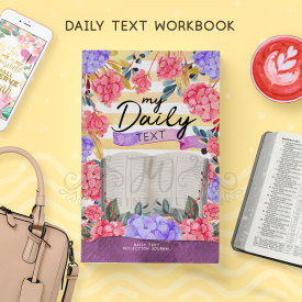 Daily Text Reflection Notebook [ 92 Pgs ]