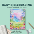Daily Bible Reading Notebook | Feminine | Best Life Ever – Pioneer Gifts – JW Gifts – Bible Reading Workbook –