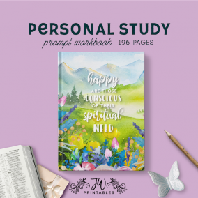 Personal Study (Feminine) – Notebook | JW Gifts