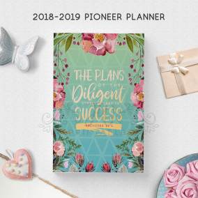 2018-2019 ULTIMATE Pioneer Planner (Turquoise) | JW Gifts