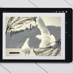 Forever In Love – Digital Card