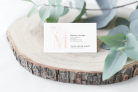 NEW! PERSONALIZED CALLING CARDS – QTY 150