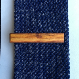 Canary Wood Tie Clip