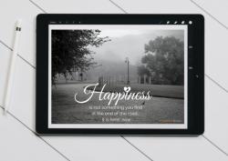 Happiness_Road_Digital Postcard