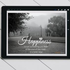Happiness Road Digital Card